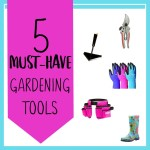 My Five Favorite Garden Tools