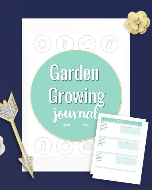 garden growing journal