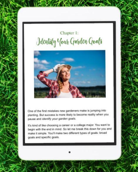 Chapter 1 - Identify Your Garden Goals