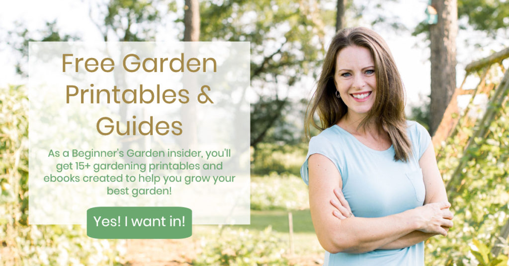 free garden printables and guides
