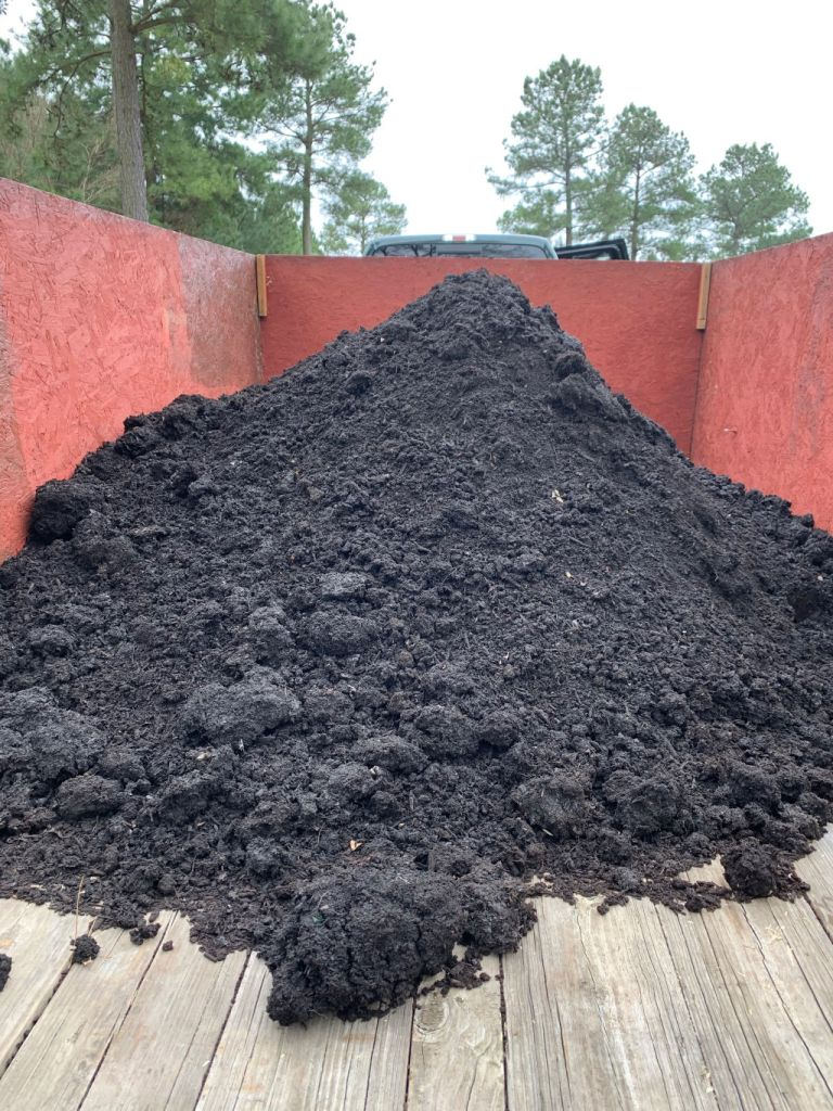 bulk compost from landscaping company