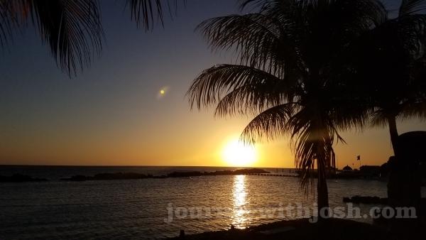 Sunset Over Mambo Beach