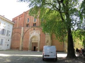 White van St Pietro