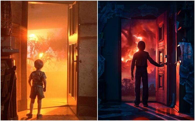 - Close Encounters of the Third Kind – Will'in kapıyı açtığı sahne, doğrudan bir gönderme.