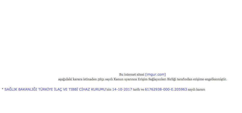 Screenshot of Imgur.com when tried to access from Turkey. Source: Ahmet A. Sabancı.
