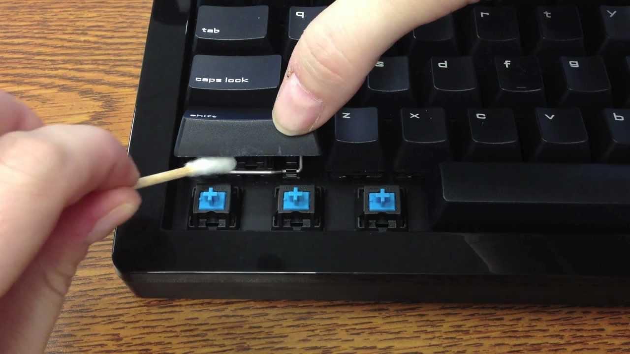 mekanik klavye temizliği