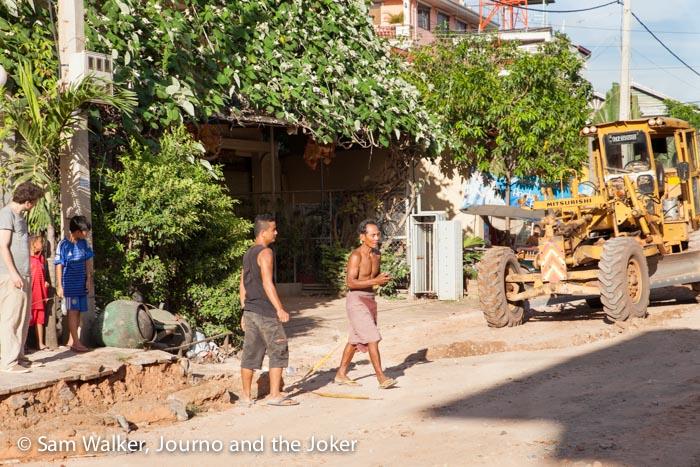 Roadworks 20 Street, Siem Rea[