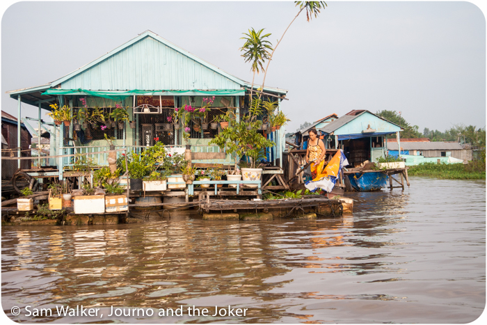 House on the river, Vietnam