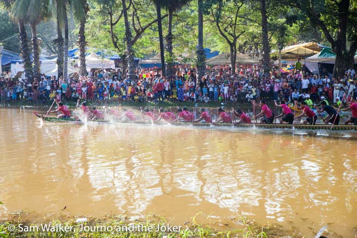 Boat race, Water Festival