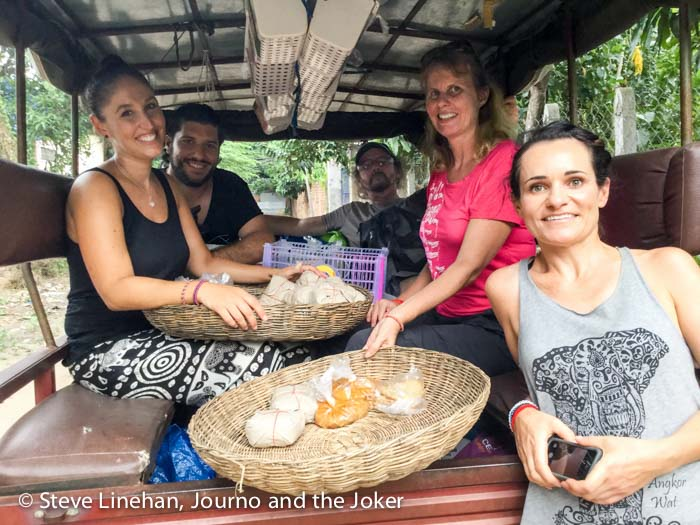 Delivering food with Touch A Life