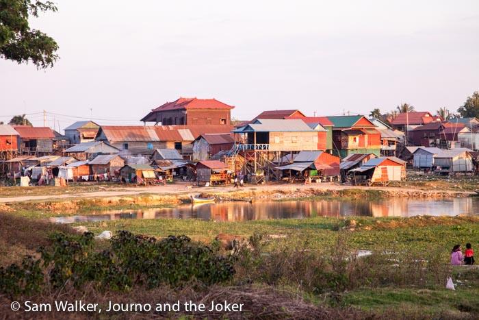Village near Tonle Sap, Cambodia