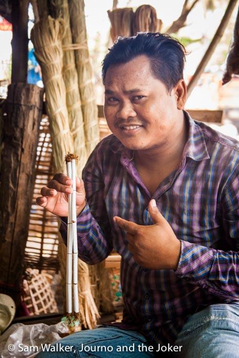 Thean, Battambang tuk tuk driver
