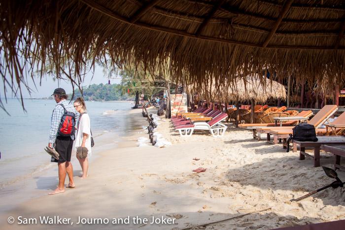 Otres 1 beach near Sihanoukville