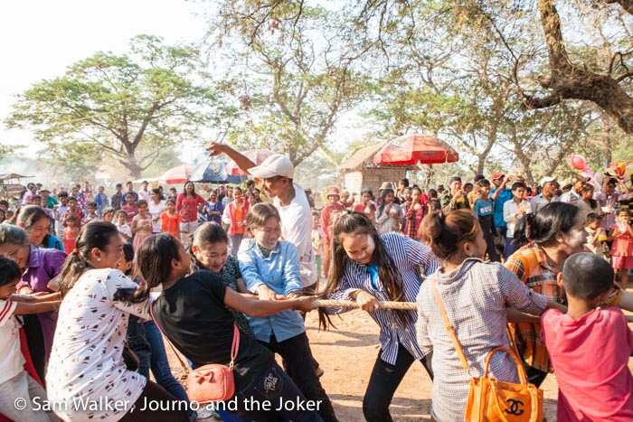 Khmer New Year games