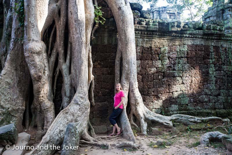 Ta Prohm, the jungle temple, Cambodia