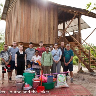 100th house for Volunteer Building Cambodia