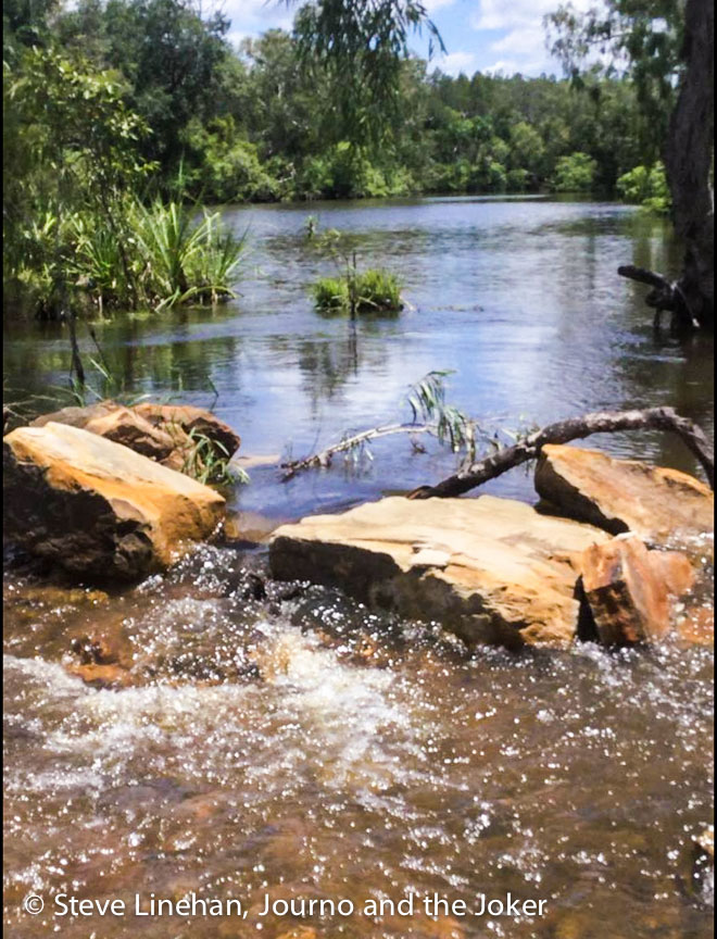 A watering hole in the Northern Territory