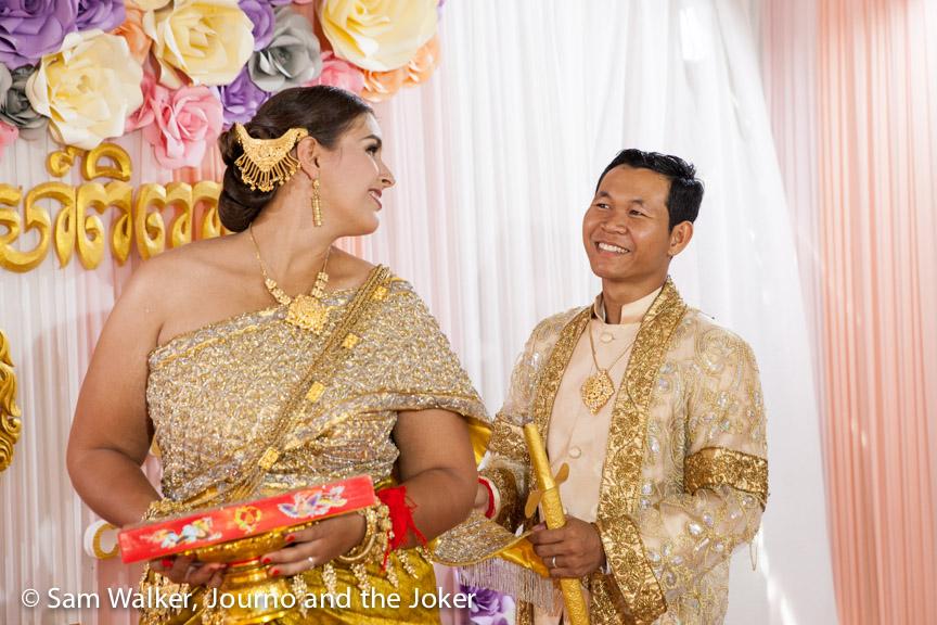 Christin and Sambath's wedding