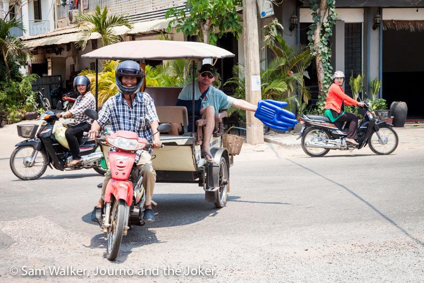 Marom Hem tuk tuk driver Siem Reap
