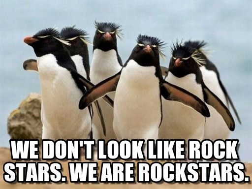 rokkipingviinit