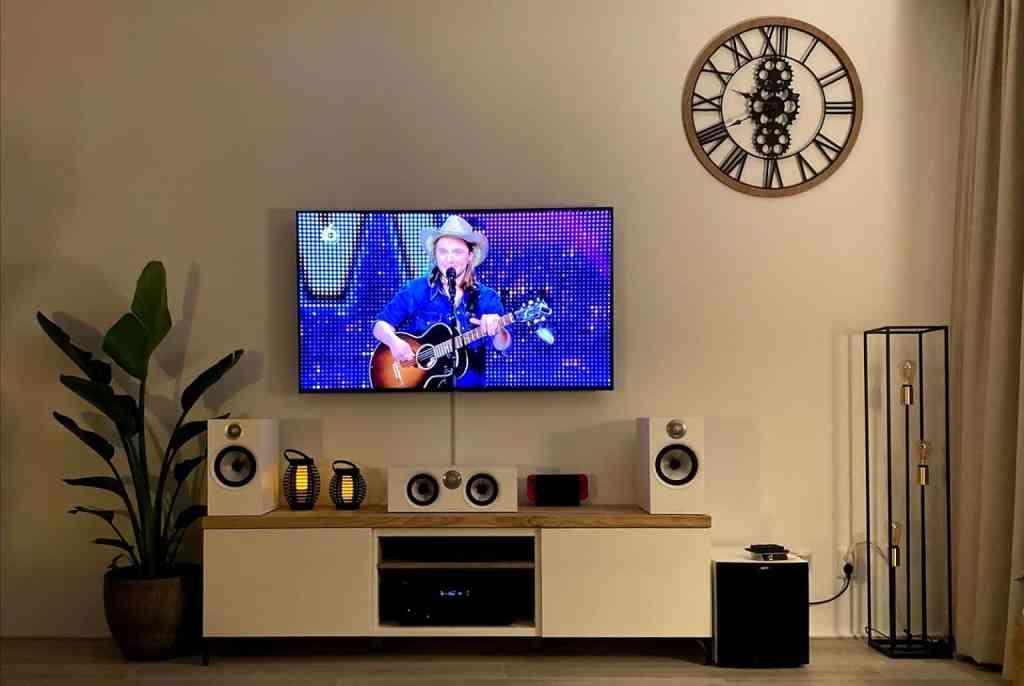 Eikenplank tv meubel