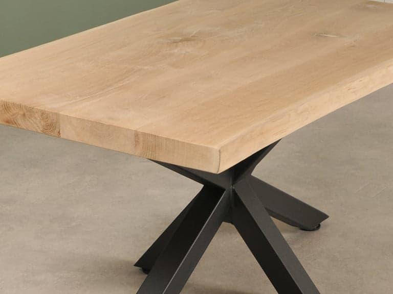 detail foto houten salon tafel