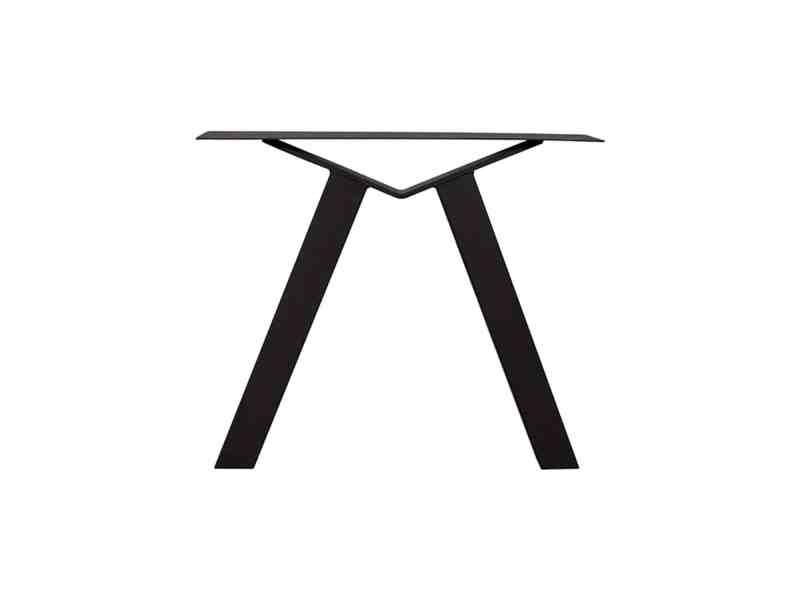 Eettafel poot M zwart