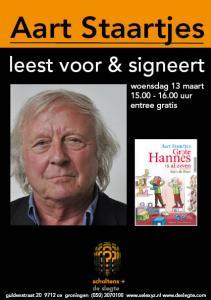 affiche Aart Staartjes