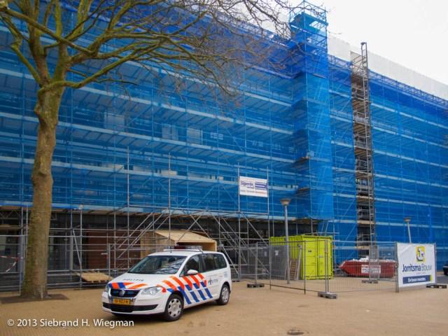 groningen-radesingel-politiebureau-verbouwing