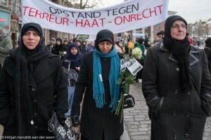 groningen-centrum-grote markt-moslim vredestocht-2
