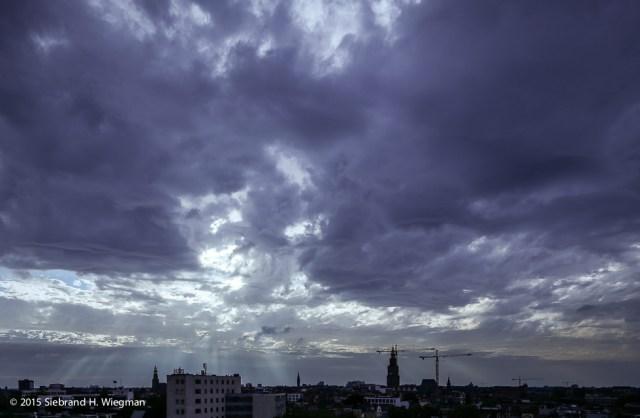 Zonsondergang Groningen-7558