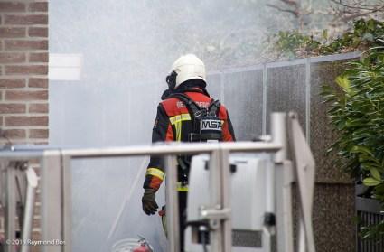 Brand in de wijk Retdiep-3