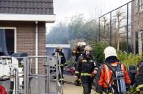 Brand in de wijk Retdiep-6