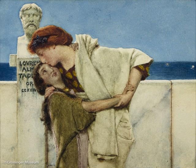 1. Alma Tadema - De Kus
