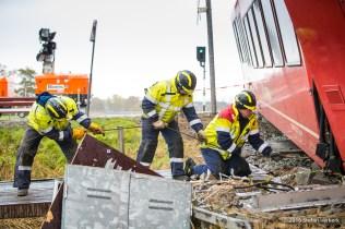 Ongeval trein Winsum