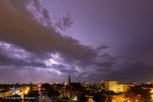 bliksem donder onweer -0940-© 2019 Siebrand H. Wiegman