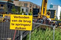 Nieuwe brug over Winschoterdiep | Foto ID-7134850-RDB Producties