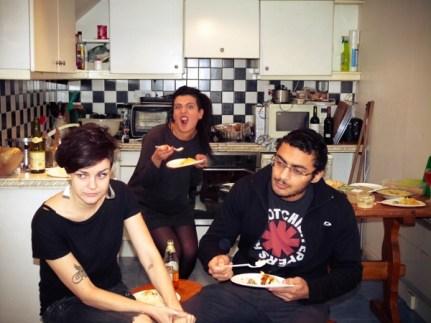 Miriam, Mahmoud, and Noora being a creep