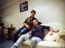 Yassine and Jonas
