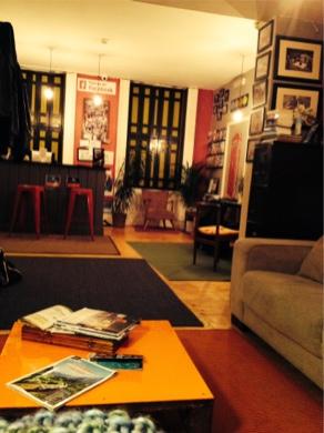My hostel common room