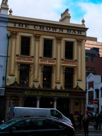The Crown Bar (gorgeous on the inside)
