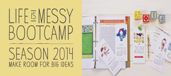 life is messy bootcamp