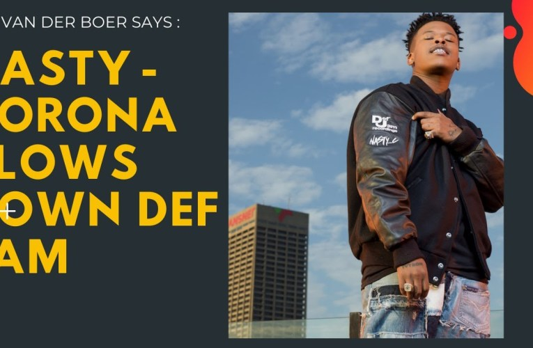 Nasty C signs a deal with Def Jam Records.