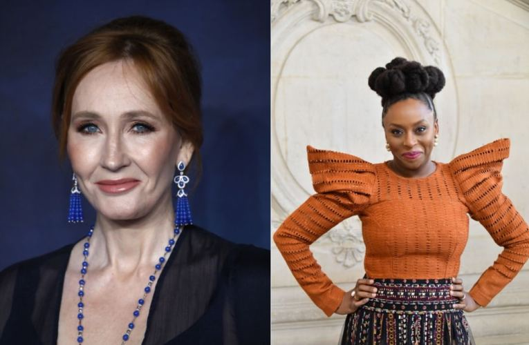 "Chimamanda Ngozi Adichie insists that JK Rowling 'believes in diversity'on her anti-trans ""gender critical""."