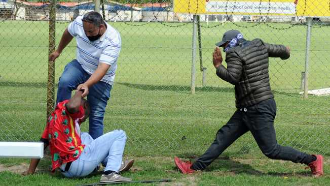 Suspect held for public violence after shots fired at EFF's Brackenfell High protest