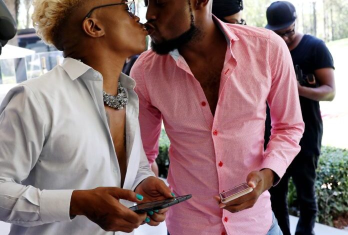 Mohale and Somizi on The Cover Of True Love Magazine's Iconic, Self-Care Edition