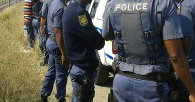 The expelled police captain South africa