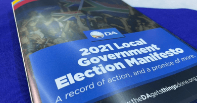 Democratic Alliance launches their Manifesto ahead of 2021 election