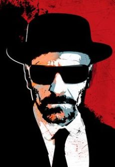 Heisenberg, the meth king of Breaking Bad. Yes, you should watch this show. And love it.