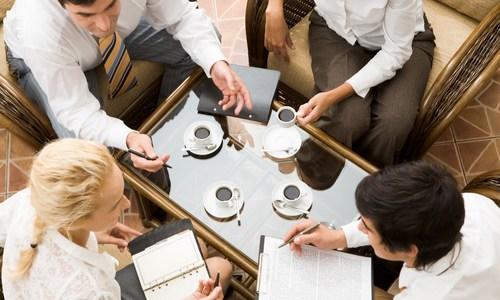 reunião-café